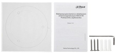 KAMERA AHD, HD-CVI, HD-TVI, PAL DH-HAC-HFW1230DP-036 0B - 1080p 3.6mm DAHUA