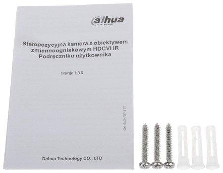 KAMERA HD-CVI DH-HAC-HFW1400SLP-03 60B - 3.7Mpx 3.6mm DAHUA