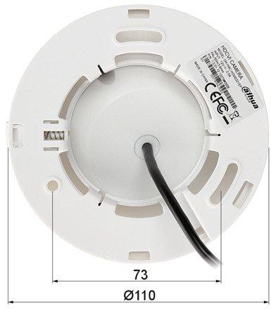 KAMERA HD-CVI, PAL DH-HAC-HDW2221EP -0360B - 1080p 3.6mm DAHUA