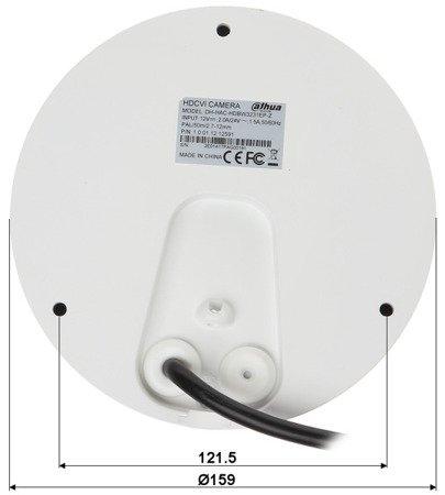 KAMERA WANDALOODPORNA HD-CVI, PAL DH-HAC-HDBW3231EP-Z - 1080p 2.7... 12mm - <strong>MOTOZOOM </strong>DAHUA