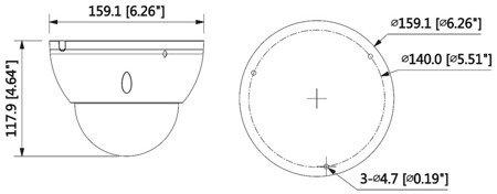KAMERA WANDALOODPORNA HD-CVI, PAL DH-HAC-HDBW3802EP-ZH -3711 - 8.3Mpx, 4K UHD 3.7... 11mm - <strong>MOTOZOOM </strong>DAHUA