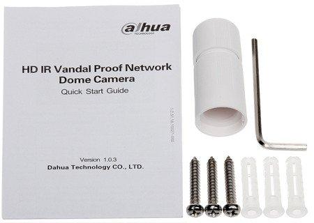 KAMERA WANDALOODPORNA IP DH-IPC-HDBW4631EP-AS E-0280B - 6.3Mpx 2.8mm DAHUA
