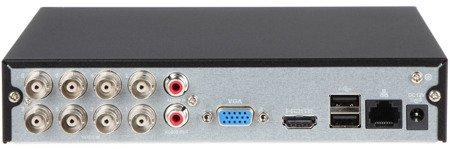 REJESTRATOR AHD, HD-CVI, HD-TVI, CVBS, TCP/IP DH-XVR1B08 8 KANAŁÓW DAHUA