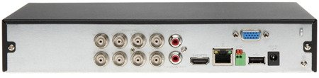 REJESTRATOR AHD, HD-CVI, HD-TVI, CVBS, TCP/IP DHI-XVR5108HS-X 8 KANAŁÓW DAHUA